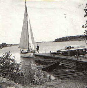 """Aorta, segelbåten Turo och """"lill-ekan"""""""