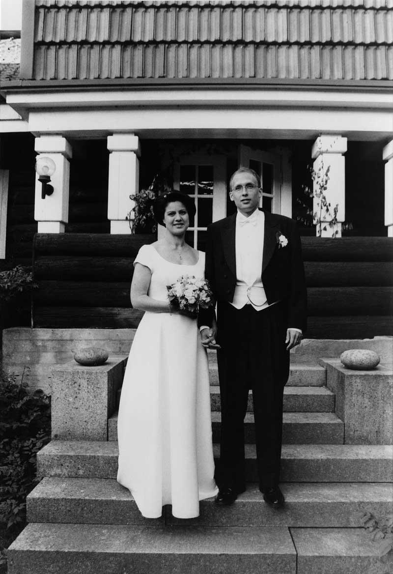 Eeva Sarvilinna ja Ville Jaakonsalo v. 2003