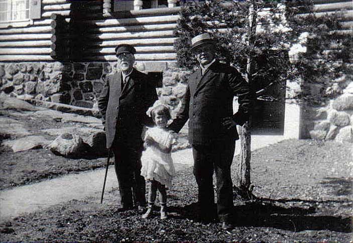 Oskar Hornborg, Ilse-Maj Illman, Alarik Hornborg v. 1922