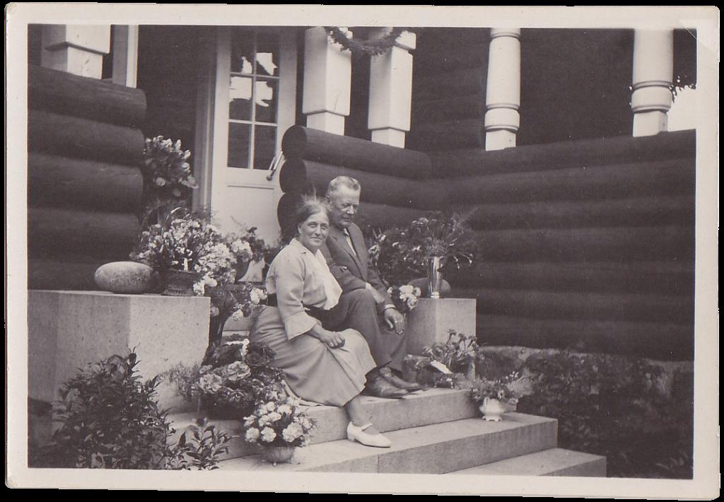 Varma och Alarik Hornborg 1935