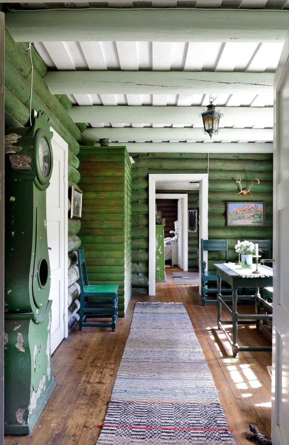 Sarvilinna, det gröna rummet