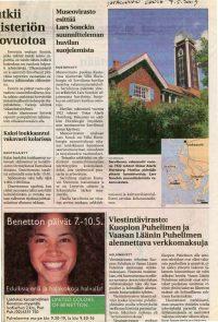 Satakunnan kansa 7.5.2003