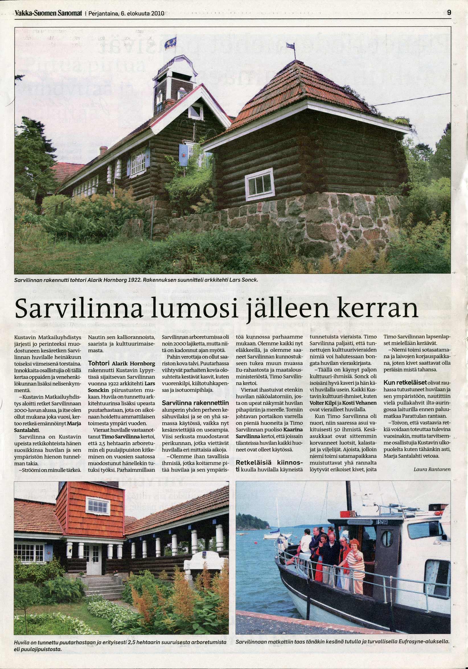 Vakka-Suomen Sanomat 6.8.2010