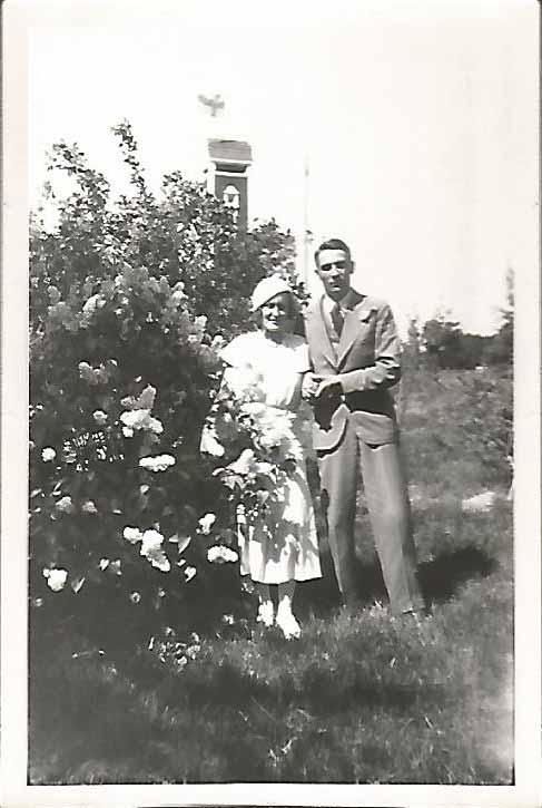 Irma Hornborg och Janne Jalanne 1933