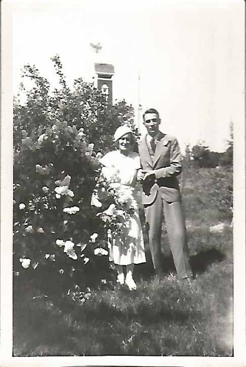 Irma Hornborg and Janne Jalanne 1933