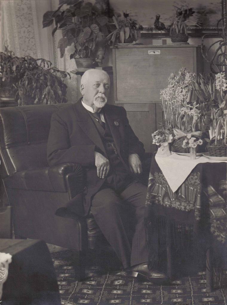Oskar Adrian Hornborg 80 år 16.12.1923